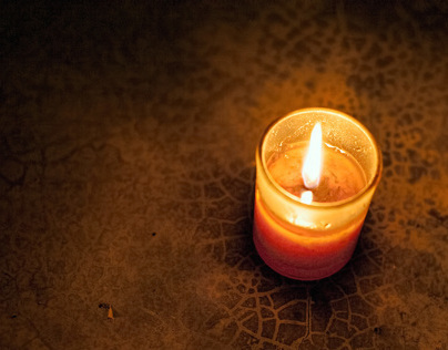 A final candle with you.