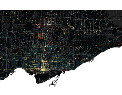Toronto Building Permit Data Visualization