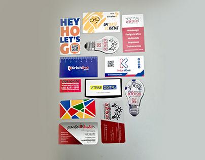 Cartões de Visita Criativos e Especiais - Diversos