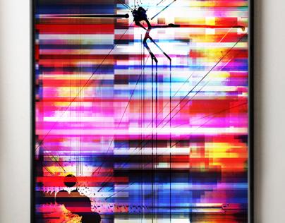 Nova Pallette - 16x20 Digital Art Print