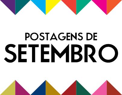 Postagens de Setembro - 2013
