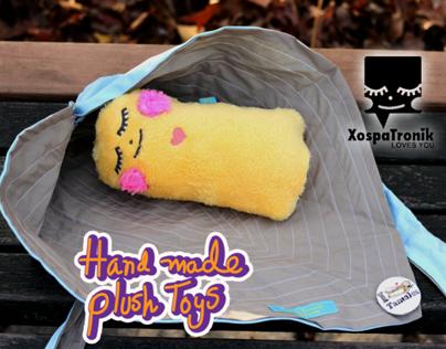 """Baby Tamal""  New hand made plush toy"