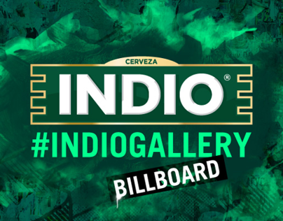 Indio beer billboard art gallery contest on behance mozeypictures Choice Image
