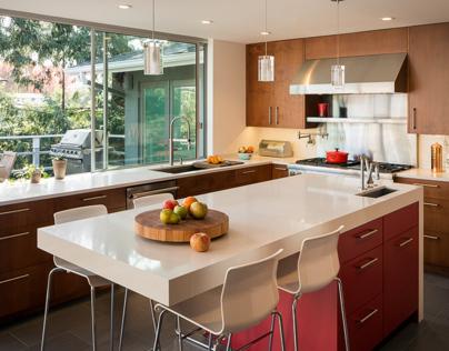 Mid-Century Modern Kitchen