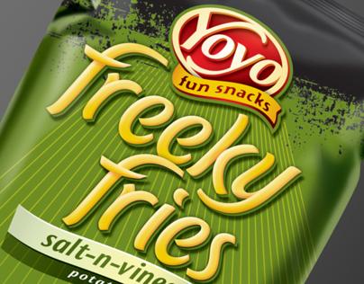 Yoyo - Freeky Fries - Branding & Packaging