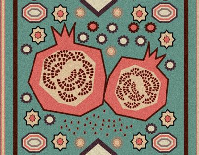 Color of Pomgranate