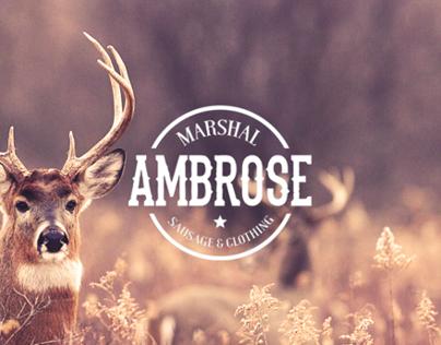 MARSHAL AMBROSE // Branding