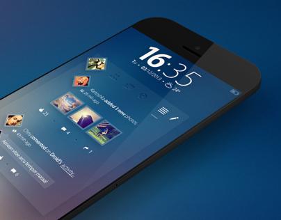 Facebook Widget - Concept