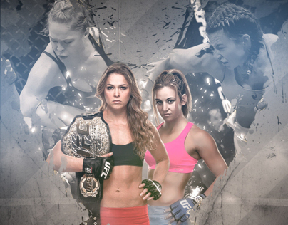 UFC 168 Rousey vs. Tate - Unofficial Poster