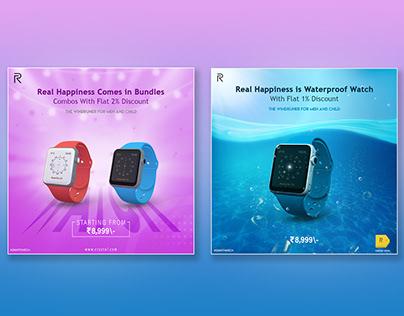 Smartwatch Advertisement