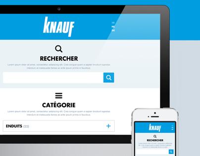 Knauf DOP website