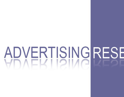 Advertising Research Project