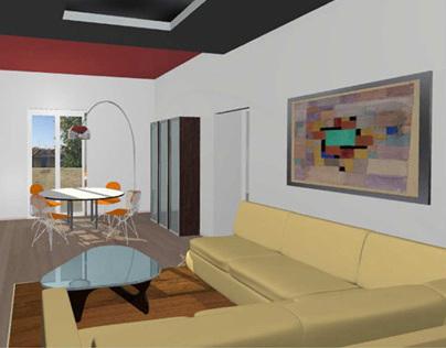 Interior Design Project for 100sqm Flat