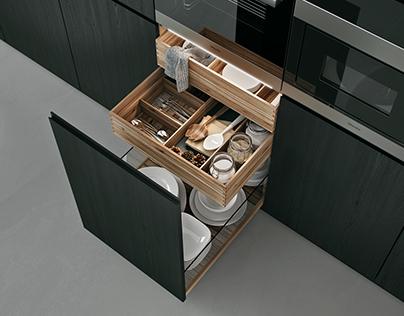 CGI Detail kitchen.