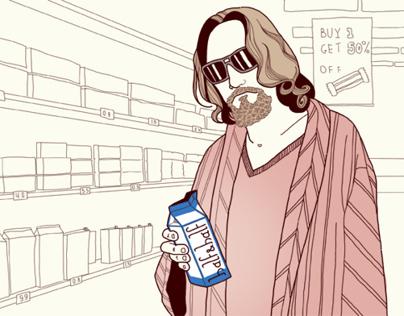 Illustrations for Drinkster.me