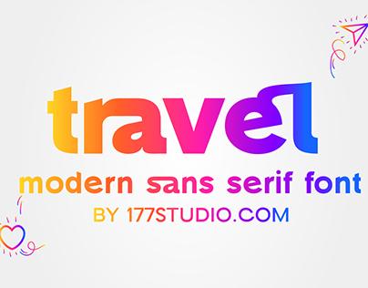 Free Font - Travel Elegant