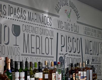 Mapuche restaurant interior