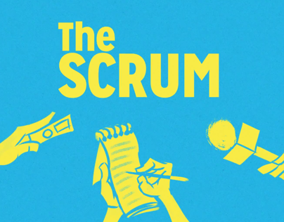 Animated Intro/Logo for The Scrum