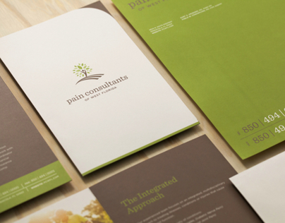 Pain Consultants of West Florida Brand Identity