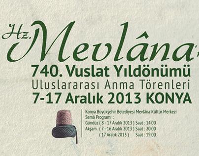 Mevlana's 740th Reunion Anniversary