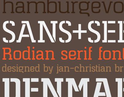 Rodian Serif (Typeface)