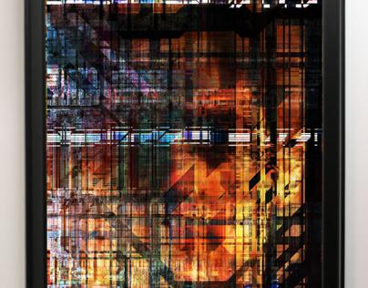 Cypher Pallette - 24x36 Digital Art Print