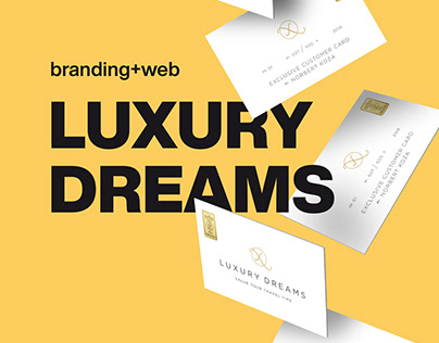 Branding + Web | Luxury Dreams
