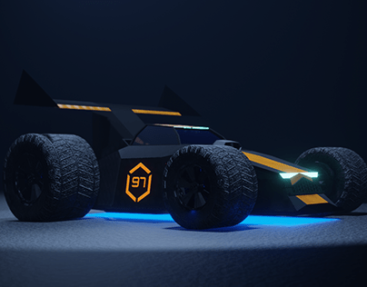 Ratbuggy | Low poly