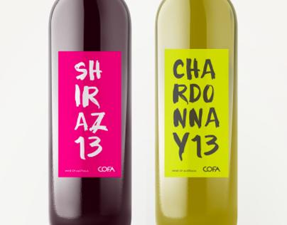Cofa Wine Label Designs