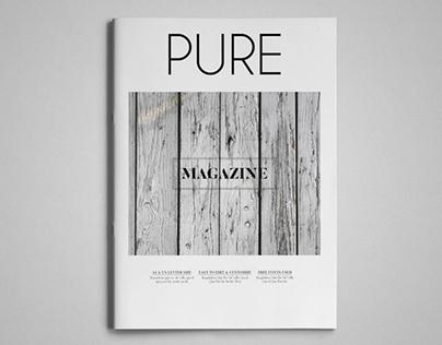 Pure Magazine Template