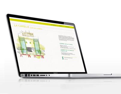 """WEB """"WWW.LACAMELIABILBAO.COM"""""""