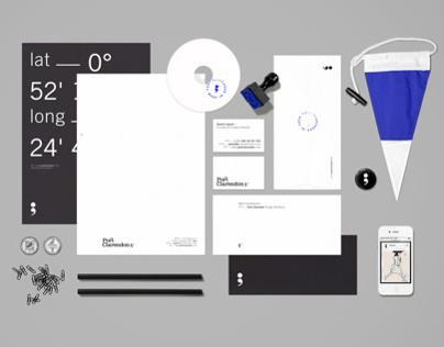 Port Clarendon brand identity & stationery design
