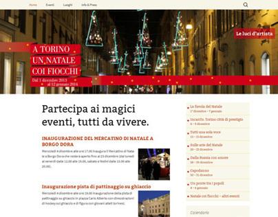"""""""A Torino un Natale coi fiocchi"""" site"""