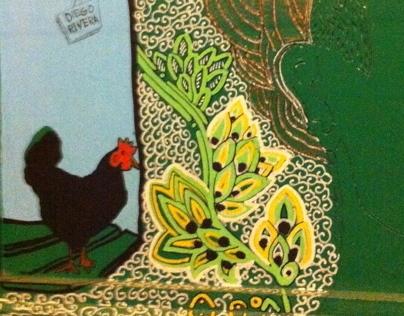 Ilustración en madera / Illustraçao na madeira