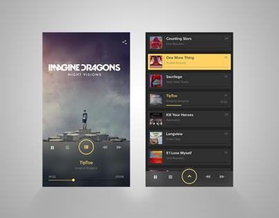 UI Design -Music Player