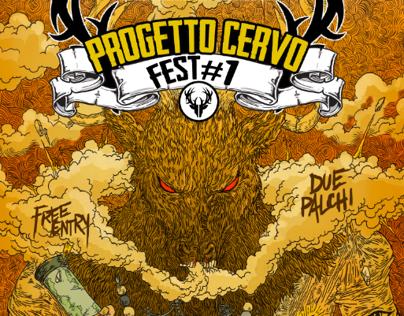Progetto Cervo Fest - Flyer