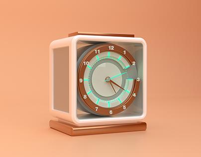 C for Clock.