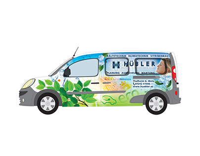 Hübler - vehicle wrap