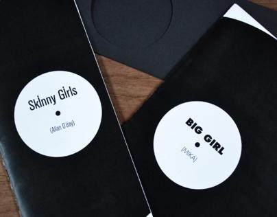 Fanzine: Skinny girls & Big girl