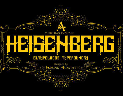 Heisenberg Typeface