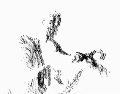 Testing Body's Displacement with Kinect in Processing