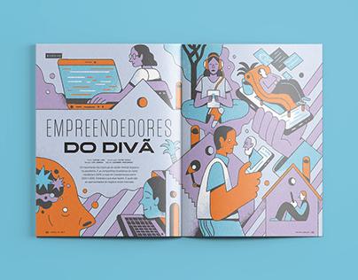 Empreendedores do divã   Revista VC S/A