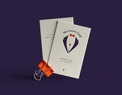 Visual identity - Proofreading company