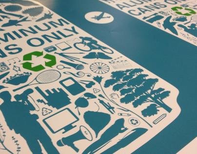 Full Sail Recycle Bins