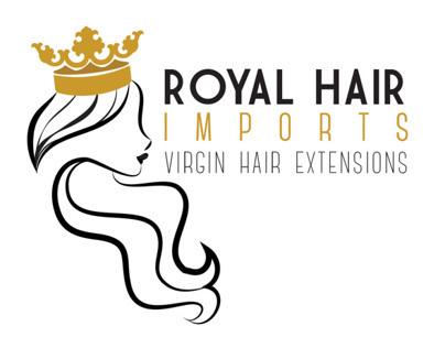 Logo Design - Royal Hair Imports