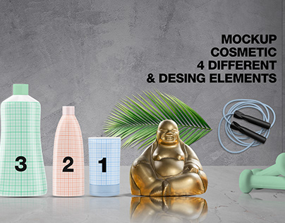 Free Cosmetic MockUp Set