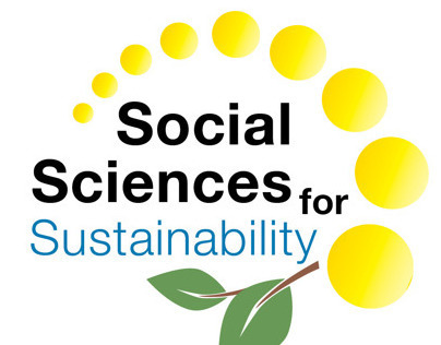 Social Science for Sustainability Logo; Planet Blue