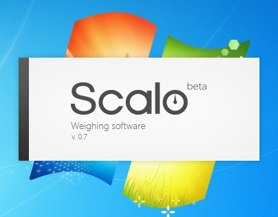 Scalo weighing app and logo design