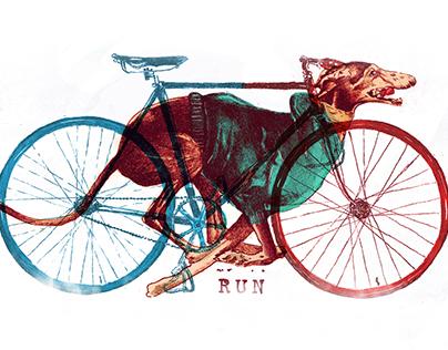 IllustrationTshirt: RUN