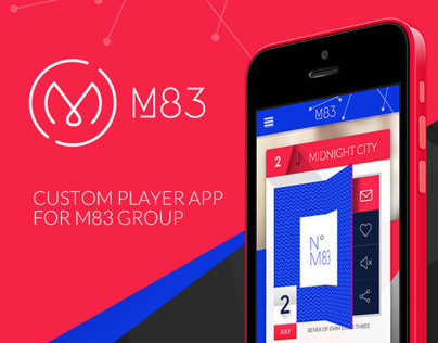 M83 Group - Custom Player App / Proposal